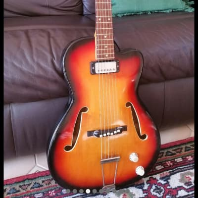 Klira Hollowbody  Sunburst for sale