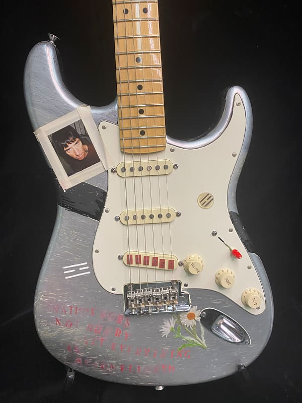 Johnny Marr hand painted Fender Stratocaster