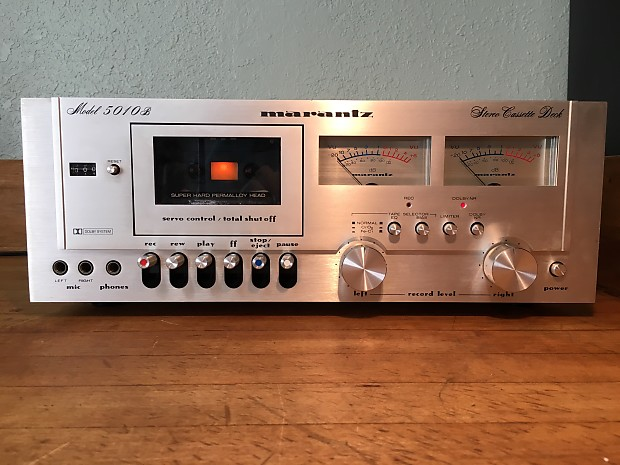 Near Mint Marantz 5010B Cassette Deck Vintage Tape Player Audiophile Hi-Fi  Stereo