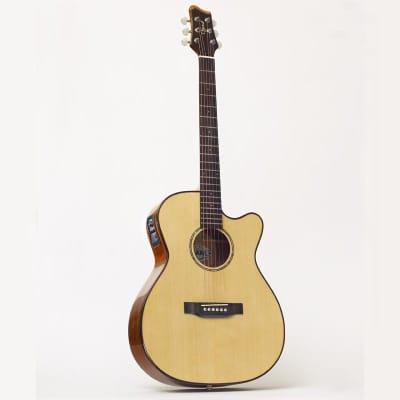 Ozark OM cutaway guitar all solid for sale
