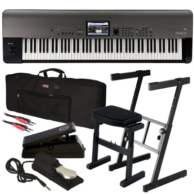 Korg Krome EX 88 Music Workstation STAGE RIG