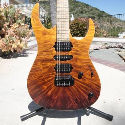 Siggi Braun  Icarus Custom 2020 Amber to Brown Fade for sale