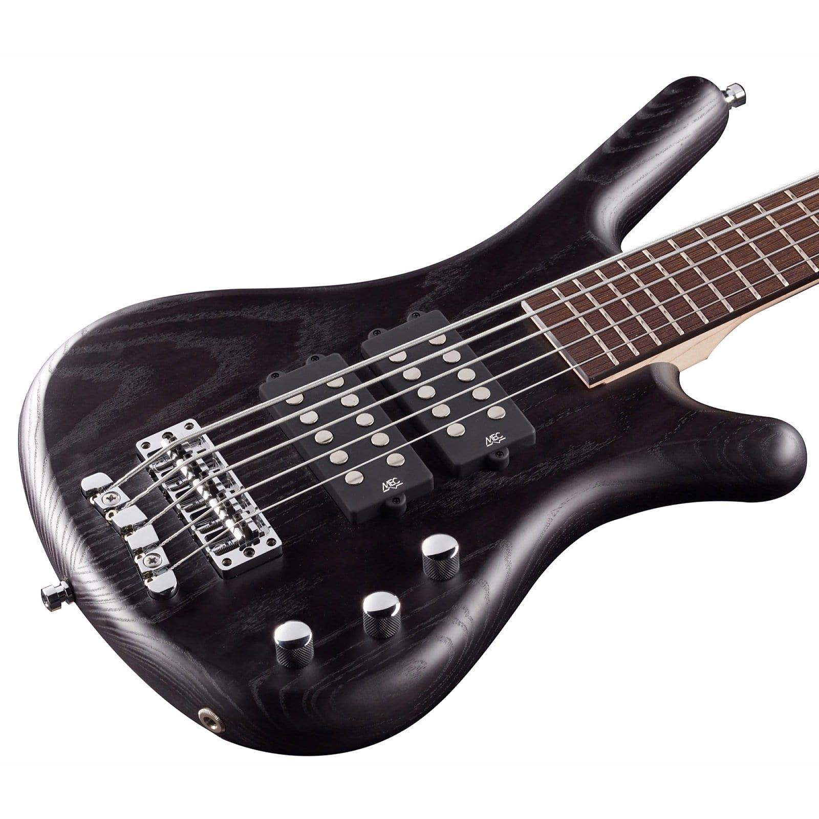 Warwick RockBass Corvette $ 5-String Electric Bass - Nirvana Black Transparent Satin