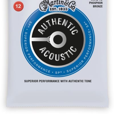 Martin MA540 Authentic Acoustic SP Light Strings 12-54