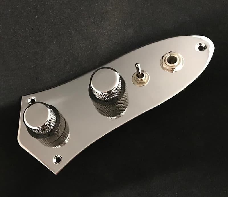 [GJFJ_338]  1960's Style wiring harness for Fender Jazz Bass with PIO | Reverb | Fender Jazz Bass 24 Wiring Diagram |  | Reverb