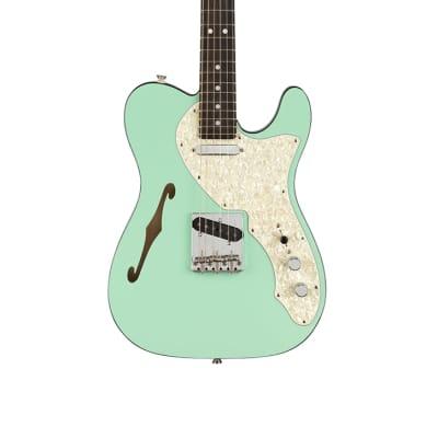 Fender 2-Tone Telecaster Thinline, Ebony Fingerboard, Surf Green