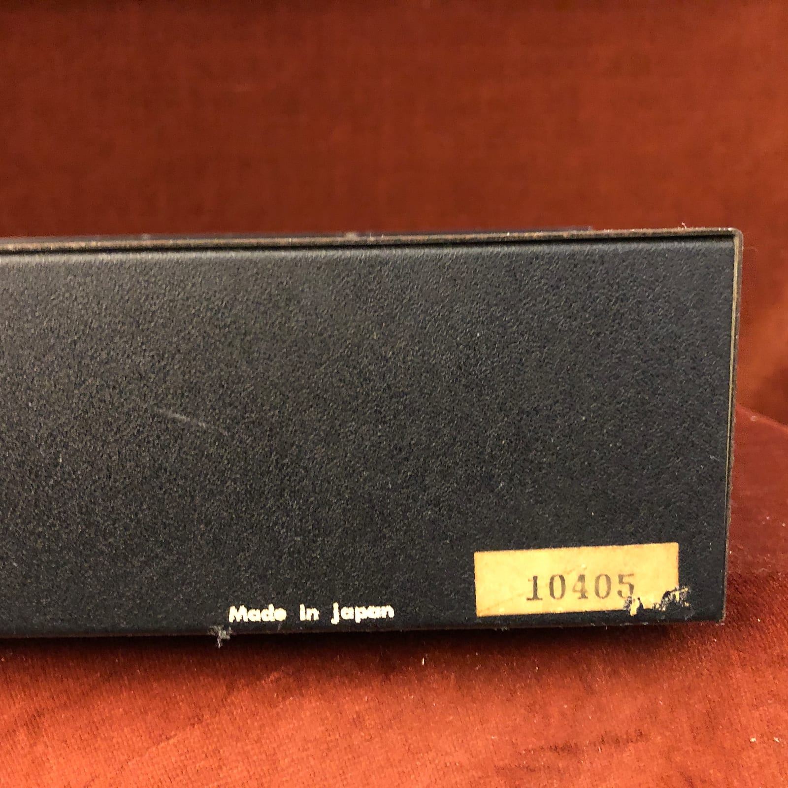 TEI Stereo Graphic Equalizer 36-155 Vintage MIJ 10-Band EQ Rackmount Japan