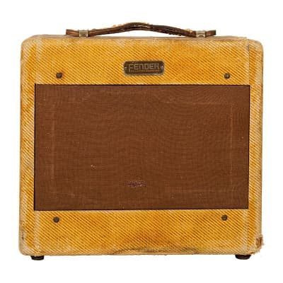 "Fender Princeton 5B2 Wide Panel 4-Watt 1x8"" Guitar Combo 1953 - 1954"