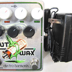 Used Electro-Harmonix EHX Hot Wax Hot Tubes Crayon Dual Overdrive Effect Pedal!