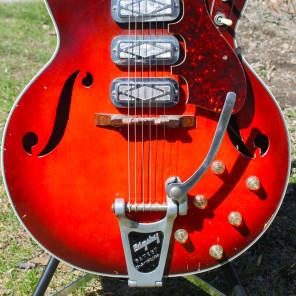 Silvertone 1454 Redburst 1966