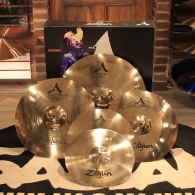 "Zildjian A Custom Cymbal Box Set + FREE 18"" Crash (A20579-11) - Demo!"