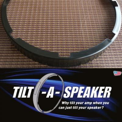 Tilt-A-Speaker Tilt your speaker inside your cabinet or amp No more amp stands