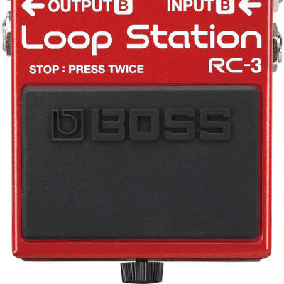 Boss RC-3 Compact Phrase Recorder Stereo Loop Pedal for sale