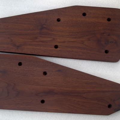 Wooden Ends for Roland ProMars Analog Synthesizer American Walnut