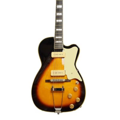 Alden AD-KESS Guitar P90s Hollow Body Violin Sunburst Electric Guitar New for sale