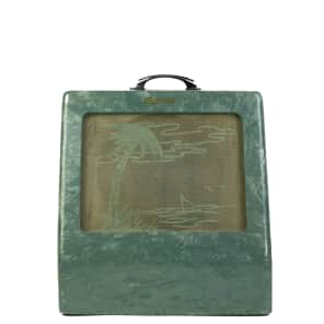 Vintage 1950s Magnatone Combo Amp Blue Pearl Wrap w/ RCA Tubes *SALE* for sale