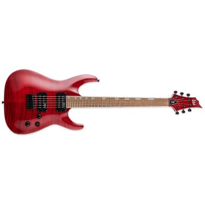 ESP LTD H-200FM, See Thru Red for sale