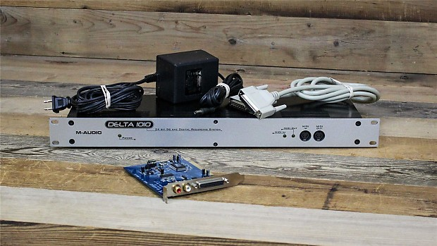 M-Audio Rackmount Delta 1010 Recording System Driver (2019)
