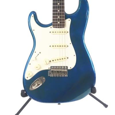 Lefty Luthier / Allparts Lake Placid Blue Nitro Strat Body SME Pickups Custom Relic Guitar ST63 L
