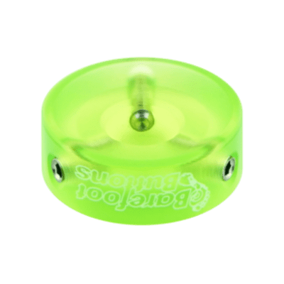 NEW BAREFOOT BUTTONS V1 - ACRYLIC - GREEN