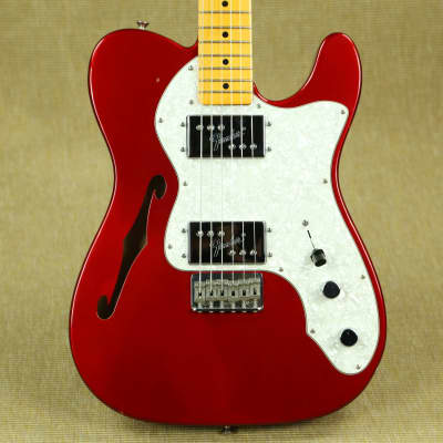 Fender American Vintage '72 Telecaster Thinline - 2011 AVRI - Candy Apple Red for sale