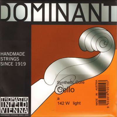 Thomastik Thomastik Dominant 4/4 Cello A String Thin(weich)  Chromesteel-Perlon