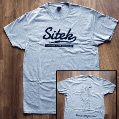 Official Sitek 'Pandora' Men's Tee Grey
