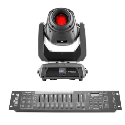 Chauvet Intimidator Spot 375Z IRC 150W LED Moving-head Spot w/Obey 10