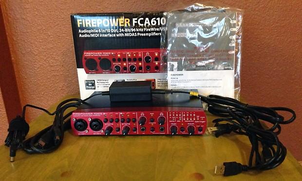 Behringer FCA610 Firewire/USB/Midi Recording Interface