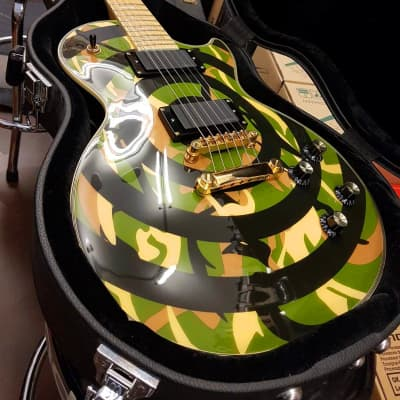 Epiphone Zakk Wylde Les Paul Custom Camo Bullseye 2008 KOREA for sale
