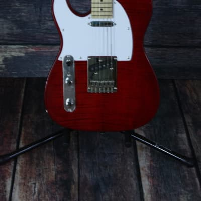 Dillion Left Handed DVT-200 F ACT Tele Style Electric Guitar for sale
