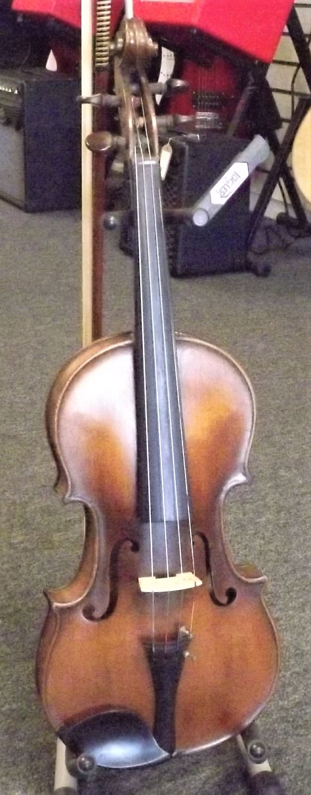 Jerome Thibouville-Lamy Nicolaus Amatus 1911 Violin, Case & Bow