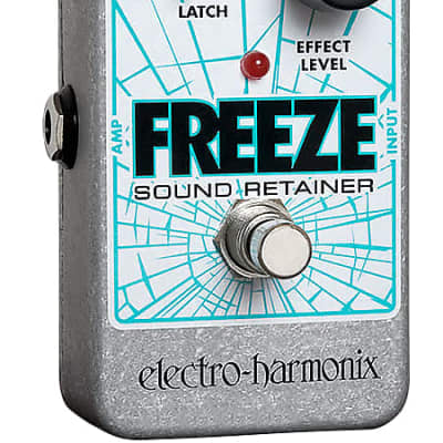 EHX Electro-Harmonix Freeze Sound Retainer Reverb Guitar Effects Pedal