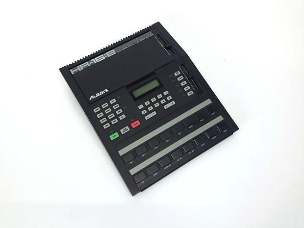 vintage alesis hr 16 b high sample rate 16 bit drum machine reverb. Black Bedroom Furniture Sets. Home Design Ideas