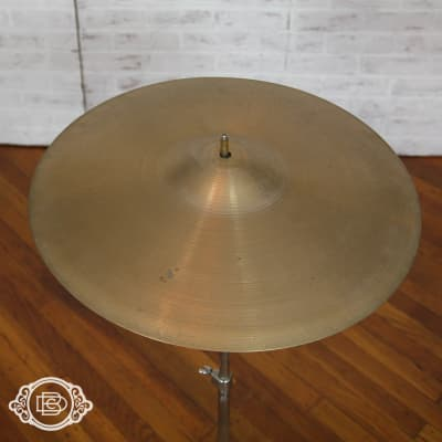 "1970s Hollow Logo A Zildjian 18"" crash 1475g vintage cymbal"
