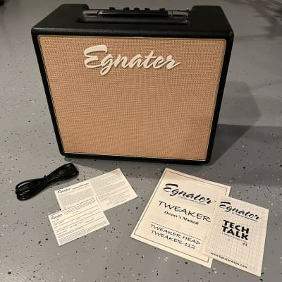 Egnater Tweaker 112 15w combo amp w/ upgraded speaker - MINT! w/ all orig. packaging & accessories for sale