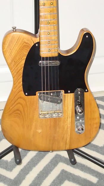 Fender Broadcaster Telecaster 1951 Natural Reverb