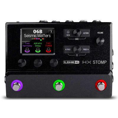 Line 6 HX Stomp Guitar Processor, Black