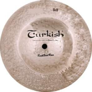 """Turkish Cymbals 8"""" Rock Series Rock Beat Raw Big Bell RBR-BB8"""