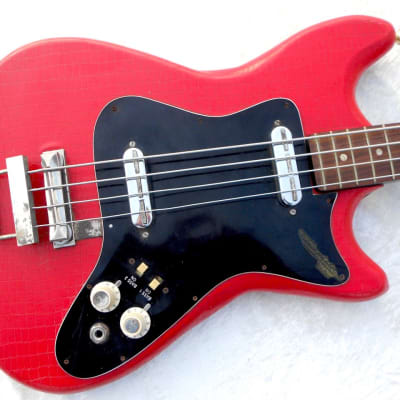 Klira Triuphator bass original vintage 60' snake red vinyl for sale