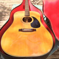 Picador  Acoustic D-28  by Martin 1970's  ~ Natural for sale