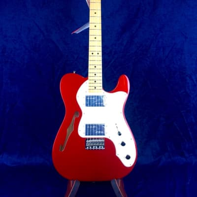 Fender Vintera '70s Telecaster Thinline in Candy Apple Red with Maple Fretboard for sale