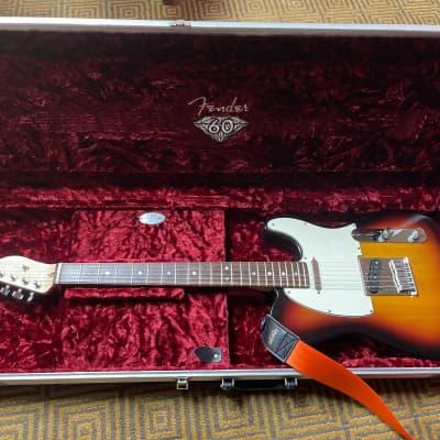 Fender American Diamond Series 60th Anniversary Telecaster-3 Color Sunburst Rosewood Fretboard