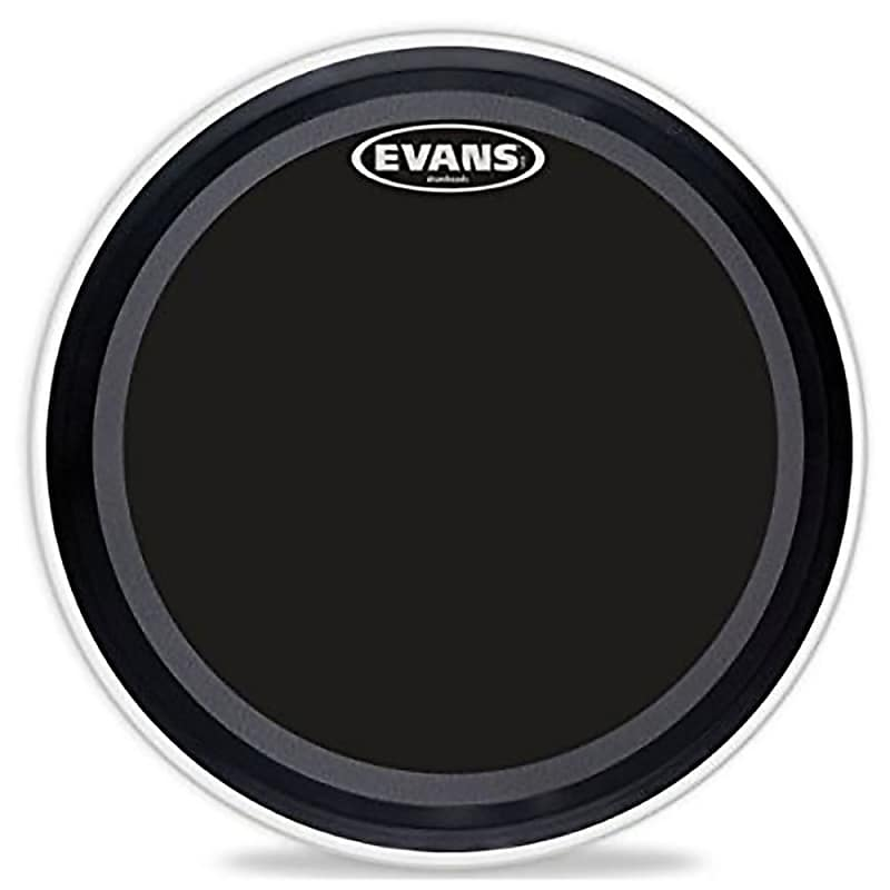 evans drumheads bd22emadonx emad onyx bass batter drum head reverb. Black Bedroom Furniture Sets. Home Design Ideas