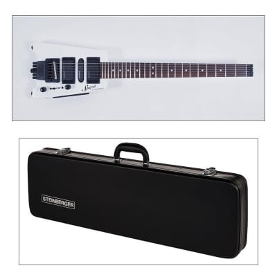 Steinberger Spirit GT-PRO Deluxe White with Hardcase Bundle for sale