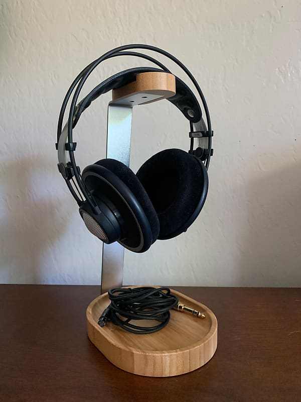 df589c57c72 AKG K702 Open-Back Studio Reference Headphones and Stand | Reverb