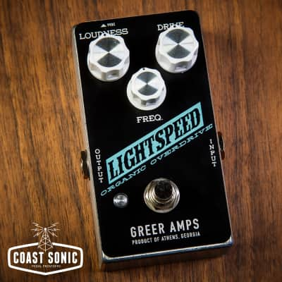 Greer Amps Lightspeed Overdrive Coast Sonic Edition