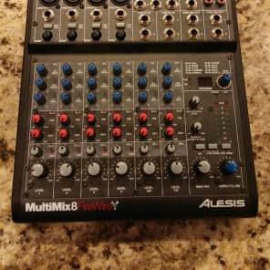 Alesis MultiMix 8 FireWire 8-Channel Mixer