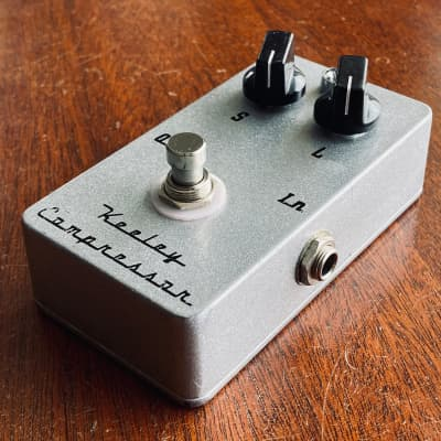 Keeley C2 2-Knob Compressor Pedal (Ross-style) True Bypass - Made in the USA