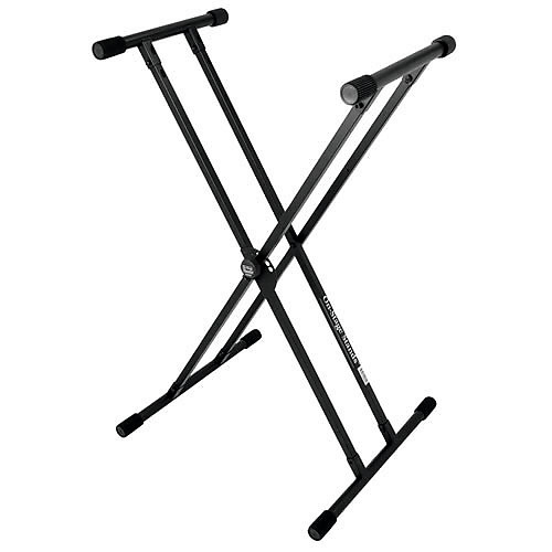 On-Stage KS320 Double X-Frame Keyboard Stand | Reverb